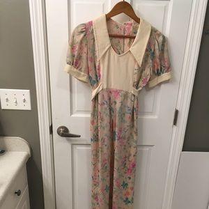 Dresses & Skirts - Vintage Floral Dress/Cover Up